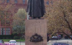 Father McGivney Statue